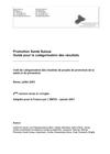 INPES. Promotion santé suisse guide pour la catégorisation des résultats (Juillet 2005) [pdf]  - image/jpeg
